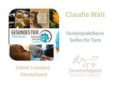 Claudia Walt - tierisch eingeseift - Übersicht