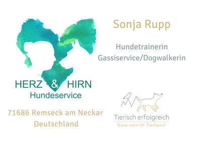 Sonja Rupp Herz & Hirn Hundeservice Übersicht