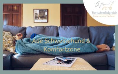 Ade Komfortzone und Schweinehund …