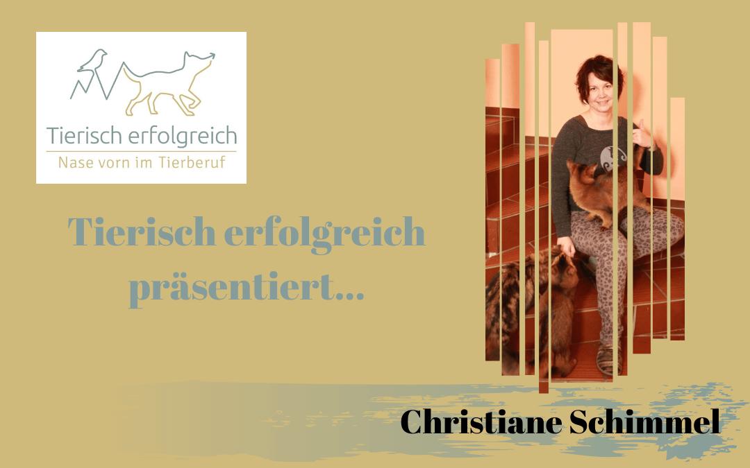 """Das """"Tierisch erfolgreich""""-Katzenprojekt: Vorstellung Christiane Schimmel"""